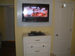 St. Simons Island condo photo - Each bedroom has its own 32 inch TV with DVD player.