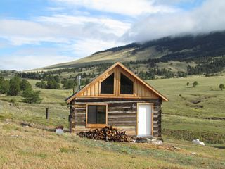 Guffey farmhouse photo - Aspen Creek Ranch cabin