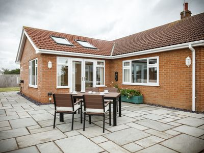 Modern spacious bungalow Anderby in the Lincolnshire Coastal Country Park