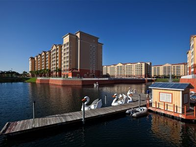 Kissimmee villa rental - Westgate Town Center - Paddle Boats