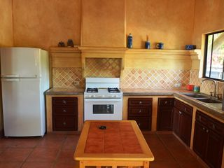 Pochomil house photo - Very large kitchen, fully equipped with utensils and all appliances