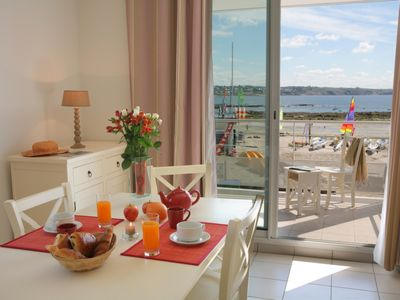Rental apartment Plougonvelin (Finistère) 20 meters from the beach