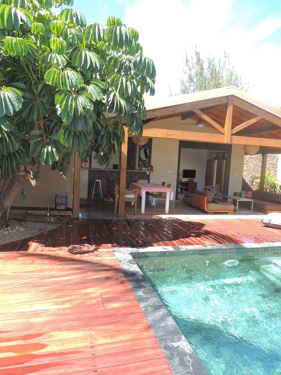 Pool house with 2 steps from the Lagoon - Tilamp 1