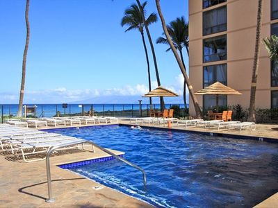 Honokowai condo rental - Beachside Swimming Pool