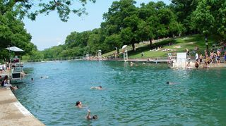 Austin house photo - Famous Barton Springs Pool is 1 miles away from the rental - walking distance!