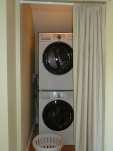 Laundry in Master Suite