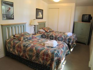 Lake Village house photo - Bedroom 3 with 2 twins. All new bedspreads and linens coming June 2012