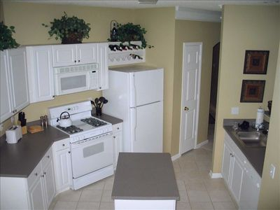Fully-equipped Kitchen...Includes a dinette with seating for four