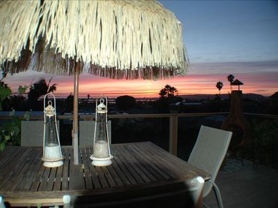 Breathtaking sunsets from the upper deck. Panoramic views of the Bay & beyond!!!