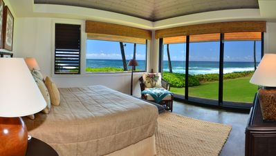 Poipu house rental - Your wake-up view