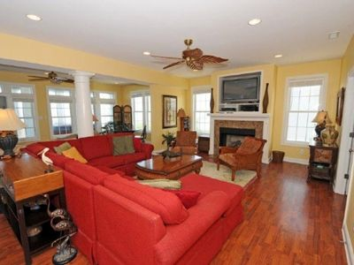 North Topsail Beach house rental - Living Room