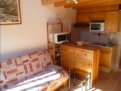 Accommodation near the beach, 36 square meters, , Grand Bornand, France