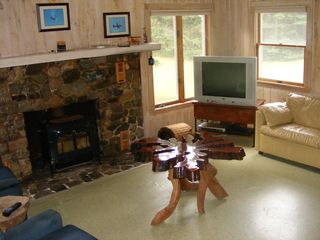 Lubec cottage photo - Living room