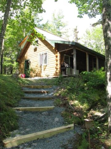 Ocean Front Cabins - Water & Mountain View, Brook - Near Acadia and Beaches