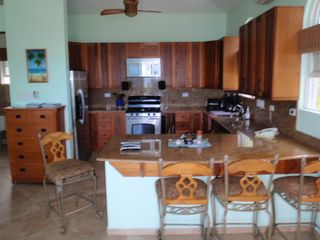 Rincon villa photo - Guest Villa full kitchen