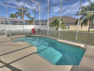 Formosa Gardens villa photo - Two story oversized Pool Lanai, Florida Privacy Glass and fully screened in