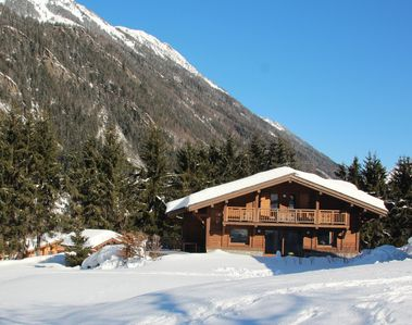 Les Houches chalet rental - Chalet under the snow on the south side