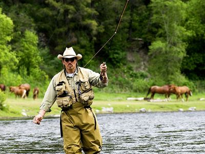Fly fishing on the Provo River. Personal guides available.