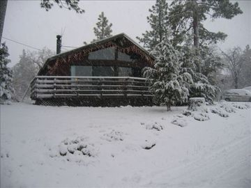 Moonridge cabin rental - At 7500 ft where is snows more and lasts longer!
