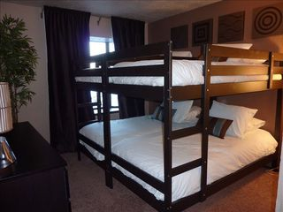 Stateline condo photo - Private Bunk Bedroom located on 1st floor with amazing valley & mountain views