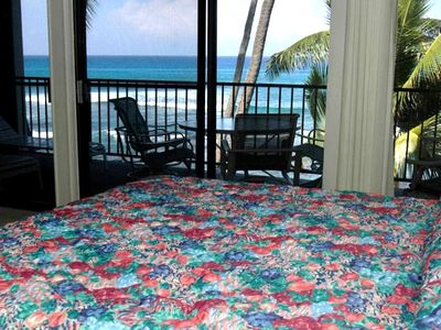 8' floor to ceiling windows in master bedroom! Fall asleep to the ocean sounds!