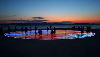 Zadar apartment photo - The Greeting to the Sun