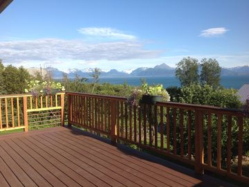 Homer apartment rental - Private, quiet, unique - a place with a difference. Two miles before Homer.