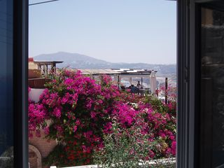 Thira (Fira) villa photo - View from 1st bedroom's window