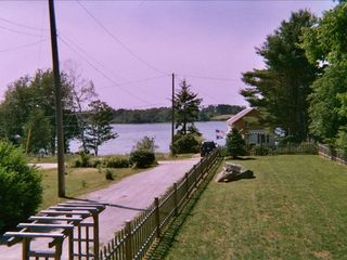 Harpswell house photo - Water View from front deck
