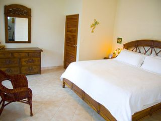 Vieques Island house photo - Coqui room king bed