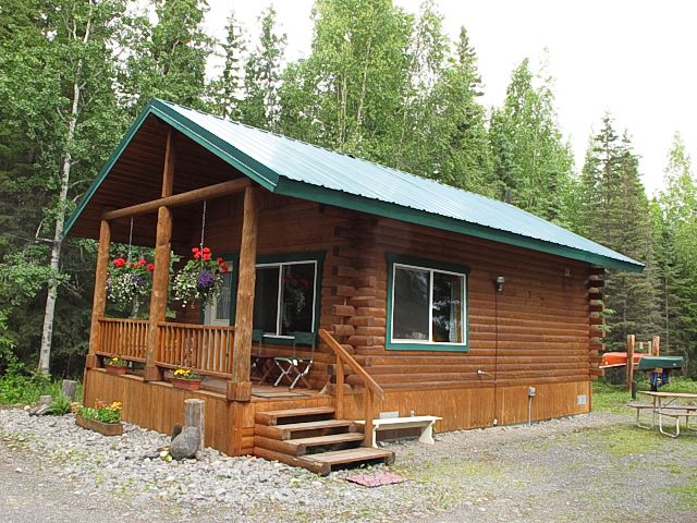 Soldotna vacation rental vrbo 224809 1 br kenai for Alaska cottage