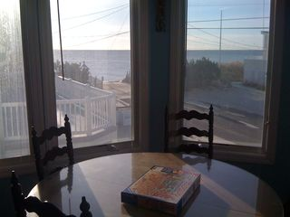 Ocean Views from the King bed room upstairs, great place to watch storms. - Beach Haven Crest house vacation rental photo