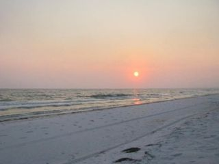 Port St. Joe cottage photo - EVENING WALKS ON THE BEACH!