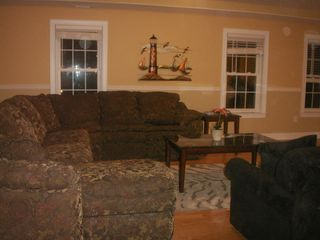 Wildwood Crest condo photo - Family room with ocean view