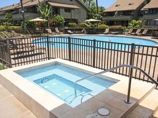 Kahana condo photo - Kahana Village Resort features a beachfront heated swimming pool, jacuzzi, BBQs