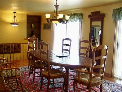 View of formal dining area