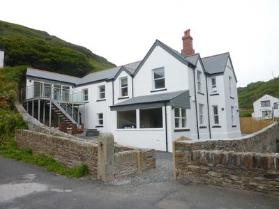 Trebarwith Strand, Cornwall.  Four Star Rated, Spacious Coastal House