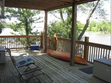 1st floor Fox Lake House Deck