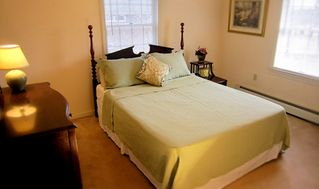 Oak Bluffs house photo - Bedroom with queen size bed