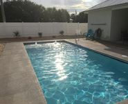 Private HEATED POOL!  1 Block to the beach! Free golf cart!! Quiet West End.
