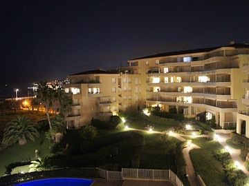 Holiday Complex By Night