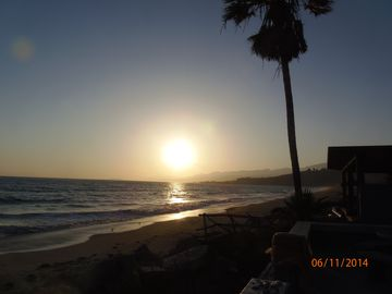 La Conchita house rental - Beautiful Sunset view from every angle of the beach house