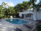 Pool and backyard - Miami Beach villa vacation rental photo