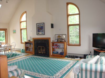 South Yarmouth house rental - Great room and dining area