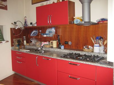 Boffi kitchen with 4 gas cookers