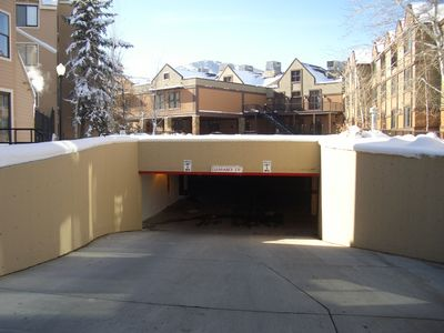 Free Underground Parking between Carriage House and Marriott
