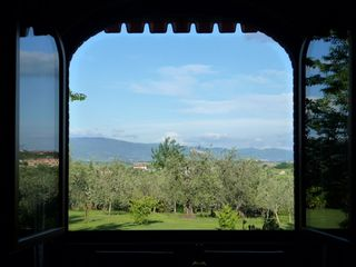 Cortona villa photo - La Colonica - View from the Livingroom - Room with a view .. Thanks to Meredith