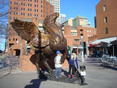 GET INSPIRED BY PEGASUS IN   DOWNTOWN DENVER