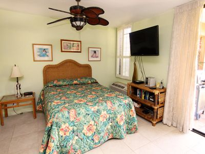 Bed Area from unit 9B Ekahi Village, Studio, Garden View
