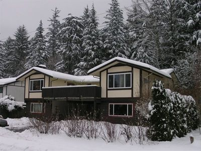Coho House in mid winter